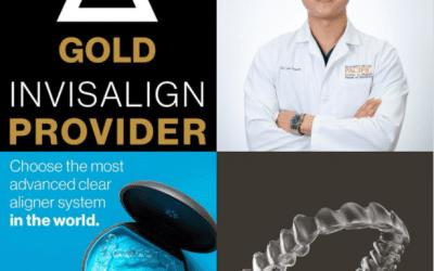 Dr. Sean Sunyoto Becomes a Gold Plus Invisalign Provider.